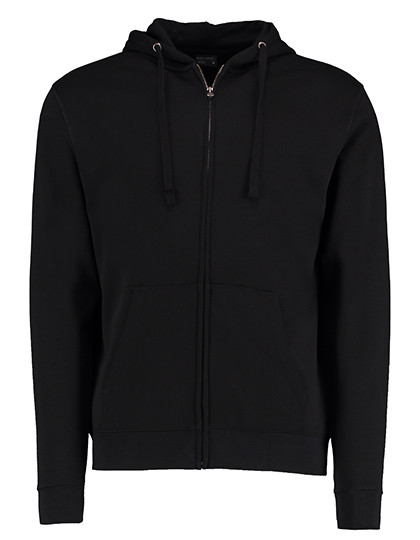 K303 Kustom Kit Klassic Hooded Zipped Jacket Superwash 60° Long Sleeve
